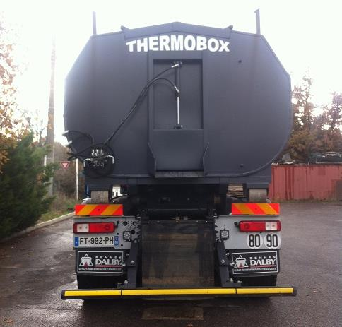 Thermobox benne thermique occasion 2